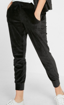 https://www.express.com/clothing/women/express-one-eleven-velour-jogger-pant/pro/07167605/color/PITCH%20BLACK